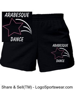 Youth Girls MJ Soffe Cheerleading Short Design Zoom